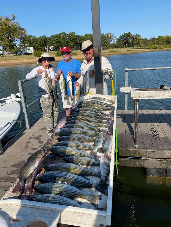 Lake Texoma Group Fishing Trip