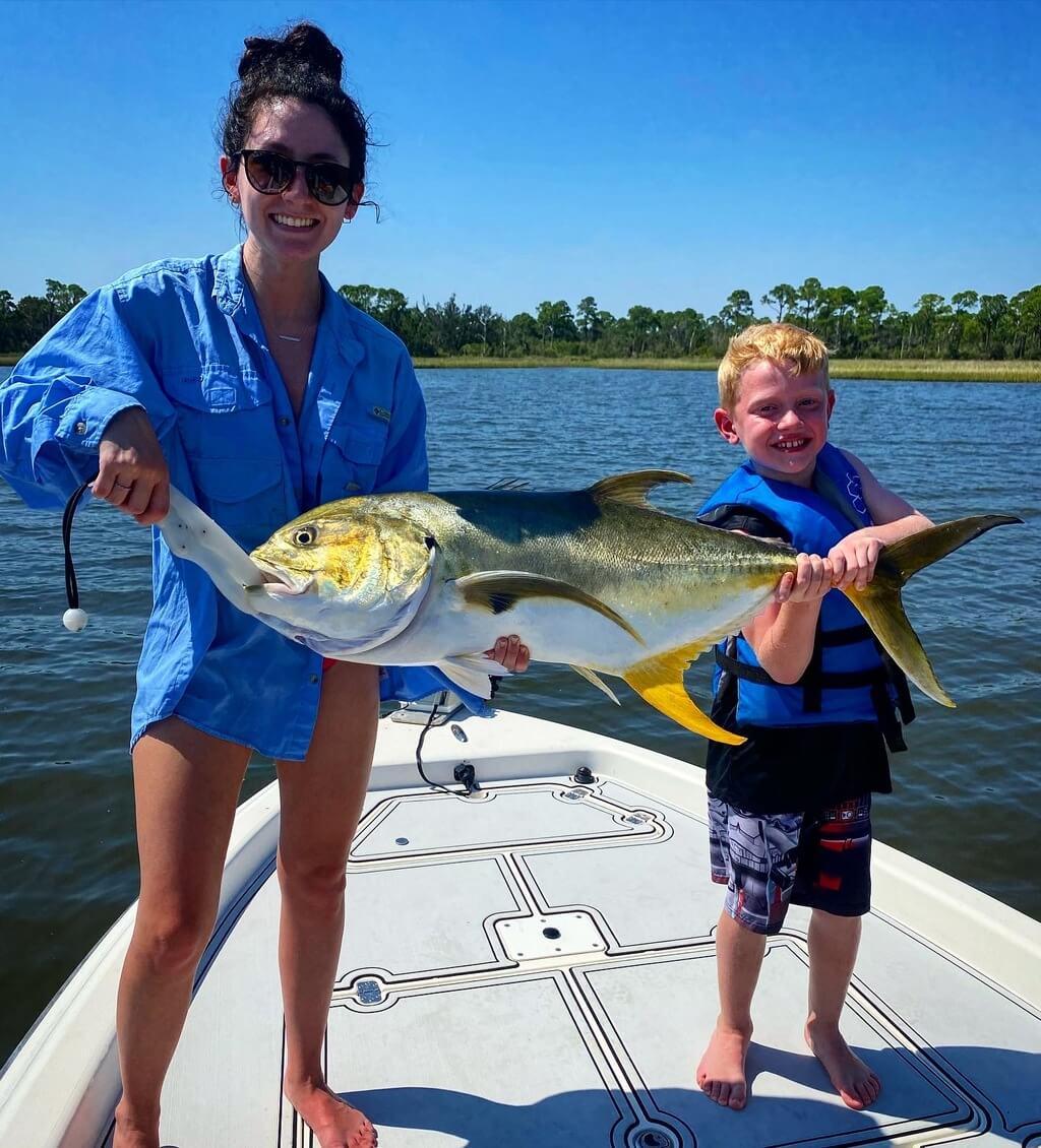 Louisiana Marsh Family Fishing Trips
