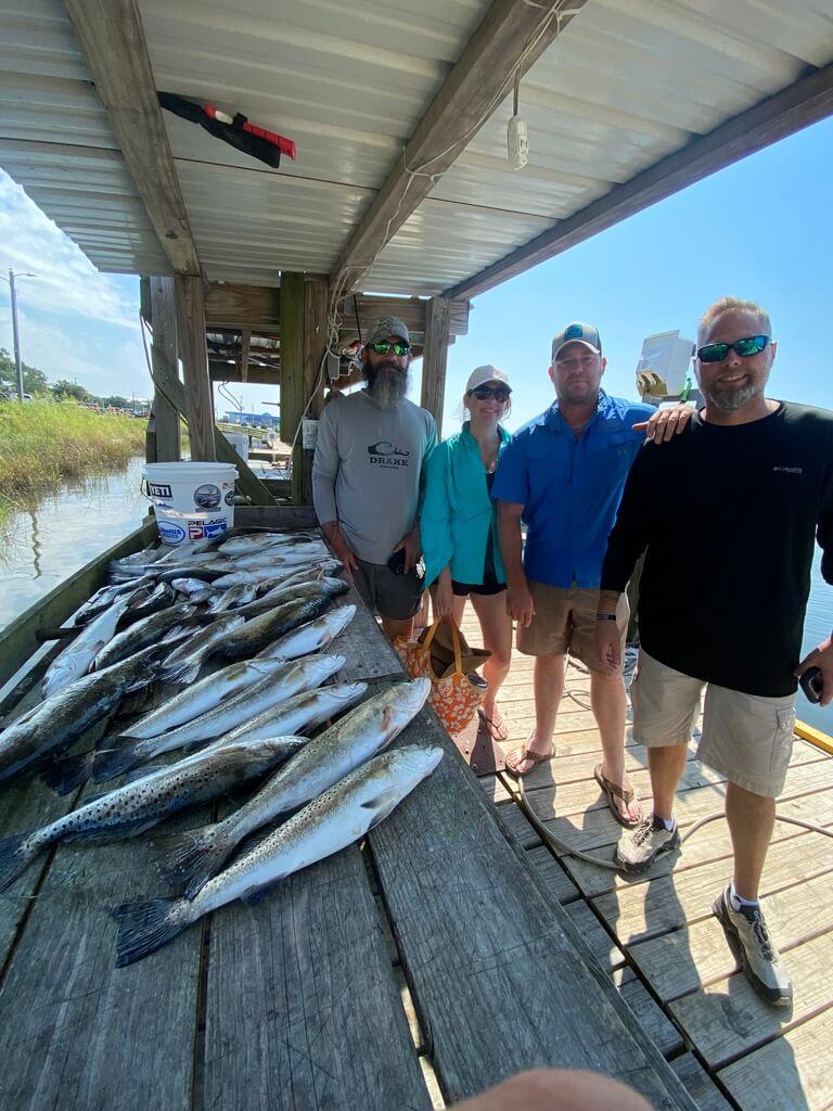 Louisiana Marsh Fishing Charters