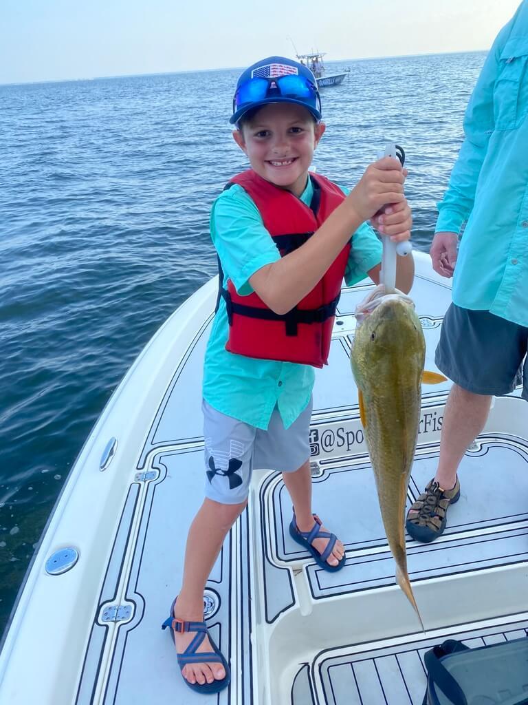 Louisiana Marsh Kid Friendly Fishing Trips