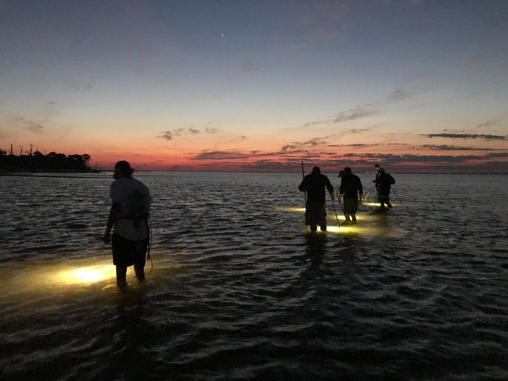 Pass Christian Flounder Gigging Trips