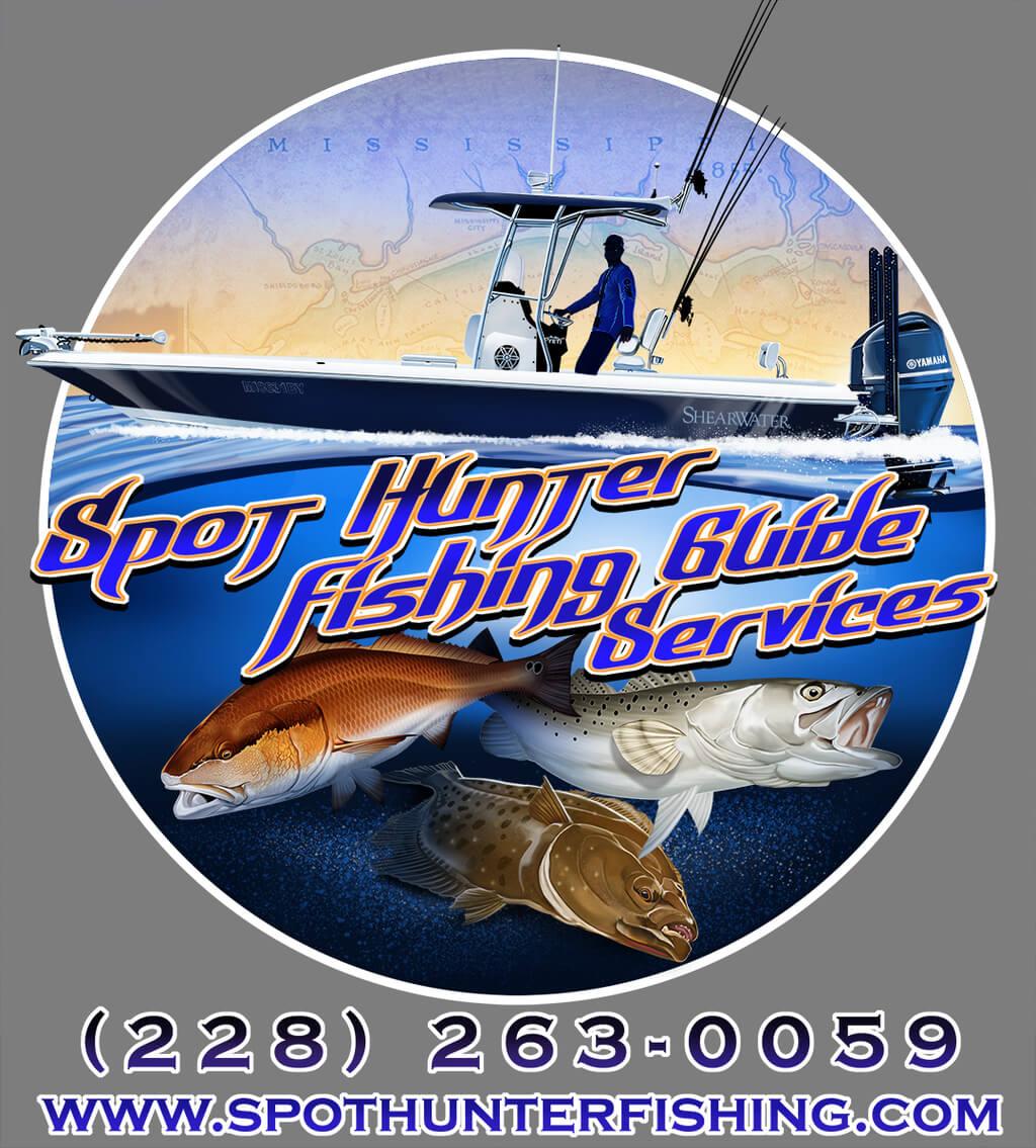Spot Hunter Fishing Guide Service