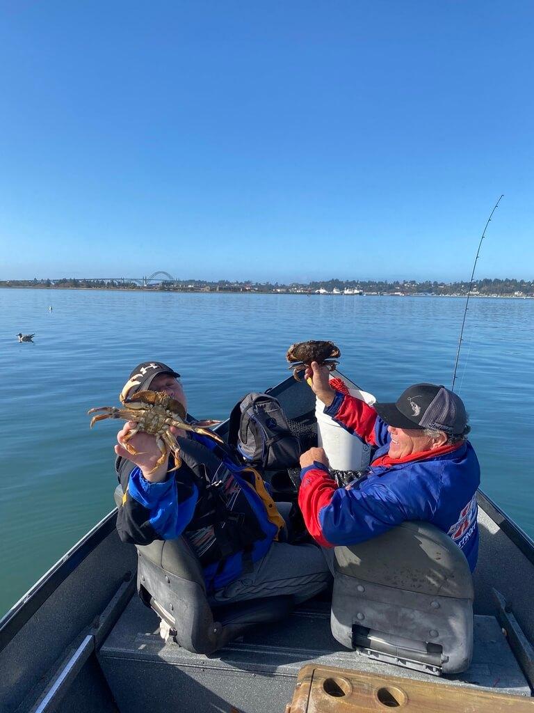 Crab Fishing near Newport Oregon