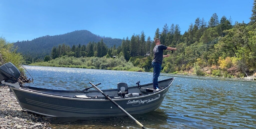 Fly Fishing Guide on Rogue River