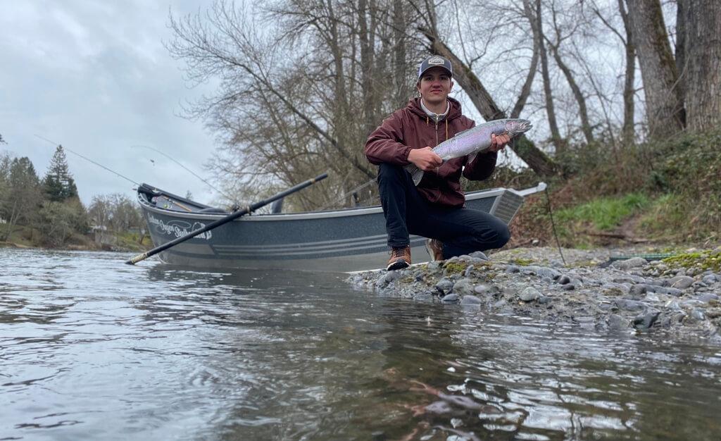 Guided Rogue River Fishing Trips