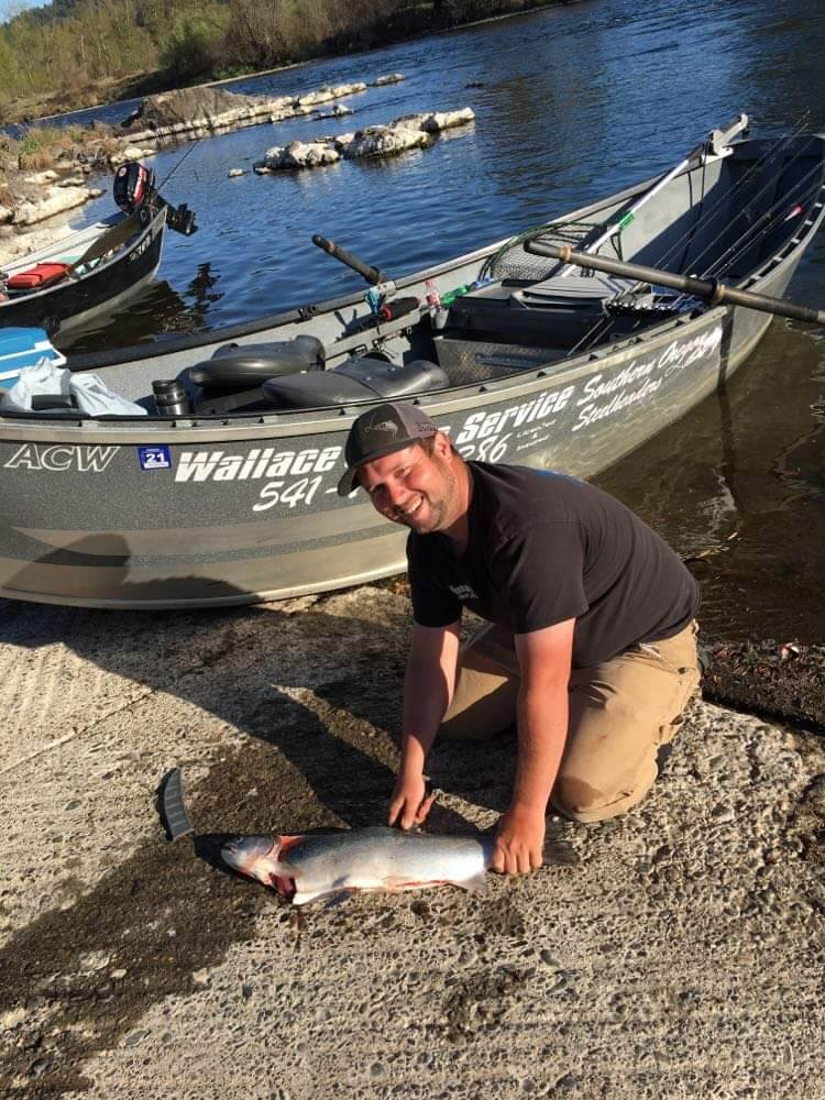 Shore Salmon Fishing