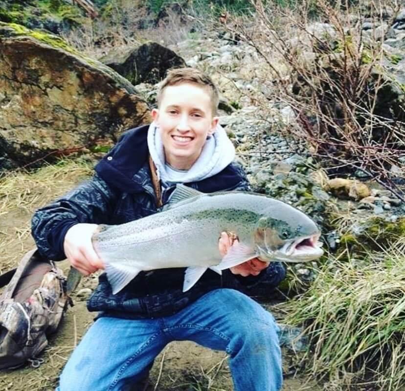 Steelhead on Elk River