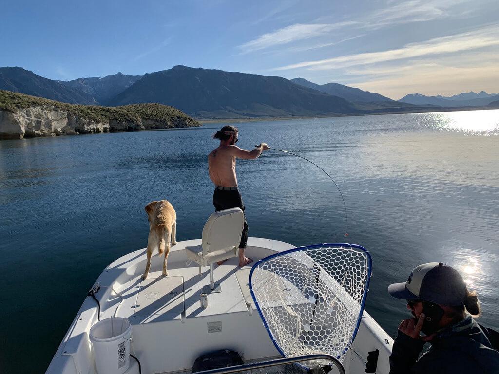Crowley Lake Fishing Guides