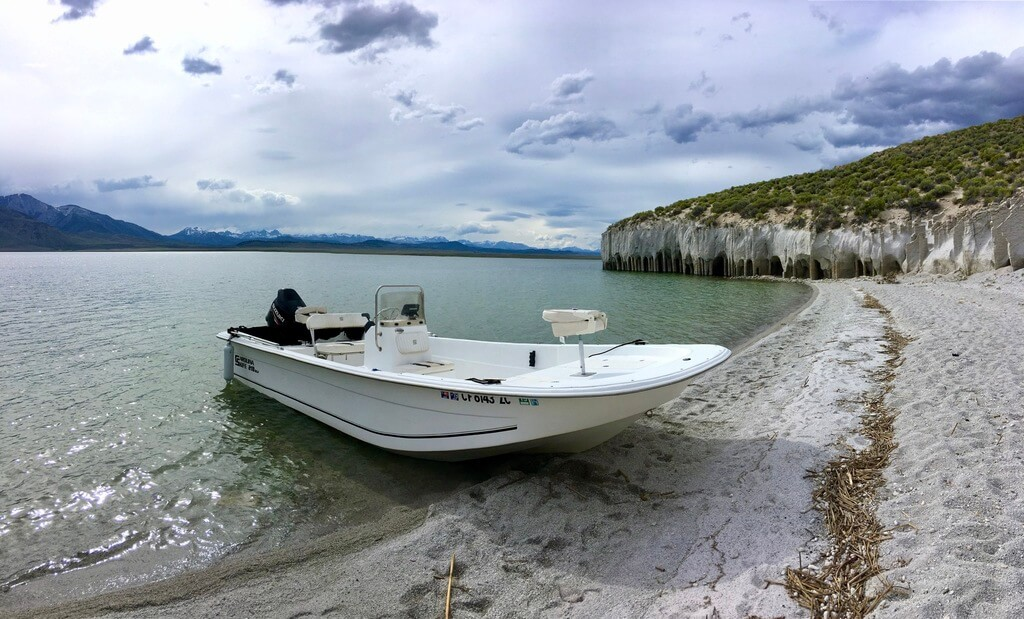 Crowley Lake Guide Boat